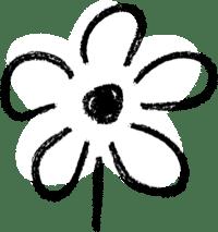 Bold flower illustration
